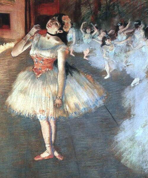 Αν δείτε μπαλαρίνα, τότε βλέπετε πίνακα του Degas.