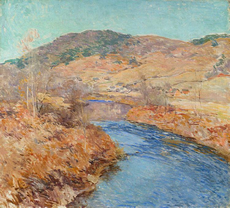 πρωινό Νοέμβρη - Willard Metcalf 1924