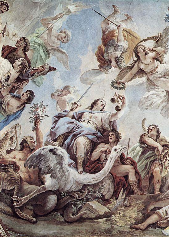 Δικαιοσύνη του Luca Giordano.