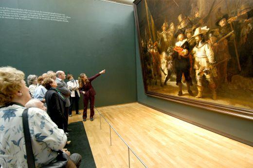 """Ο διάσημος πίνακας του Ρεμπράντ """"The Night Watch"""""""