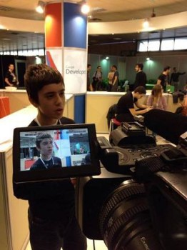 O Νικόλα κατά τη διάρκεια της 78ης ΔΕΘ επισκεπτόταν καθημερινά το περίπτερο της Google