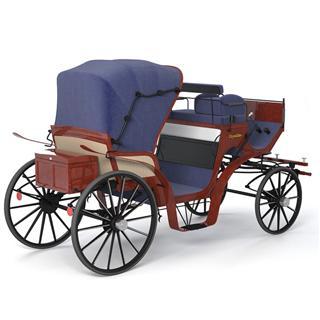 Vintage Carriage cab