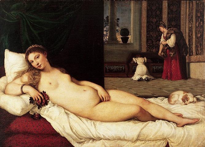 Tiziano –η Αφροδίτη του Ουρμπίνο
