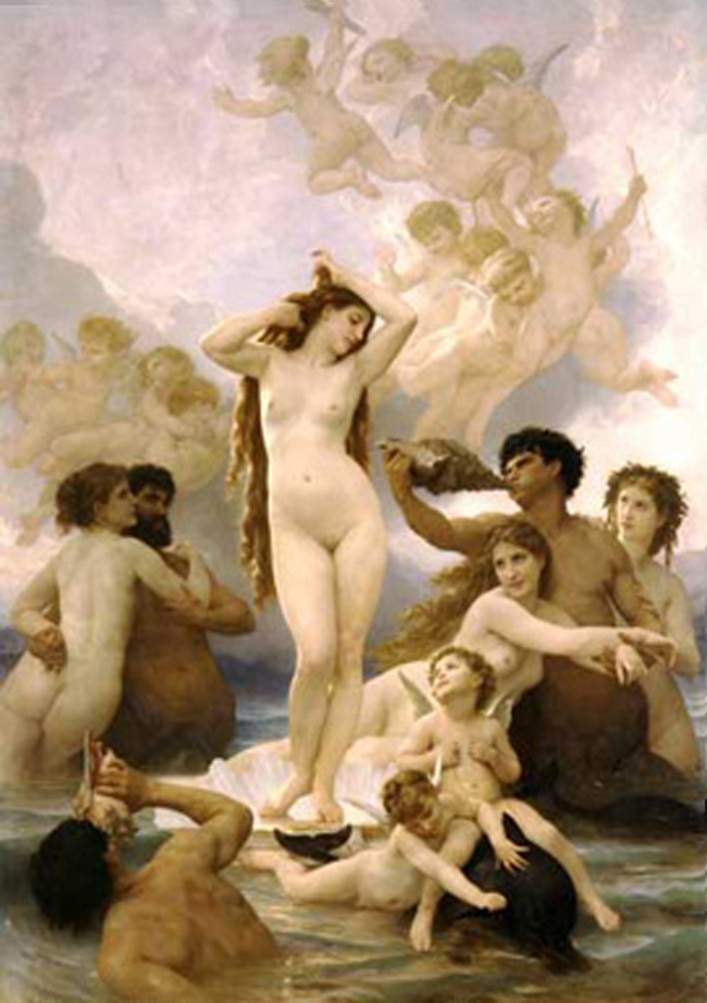 Bougereau – η γέννηση της Αφροδίτης