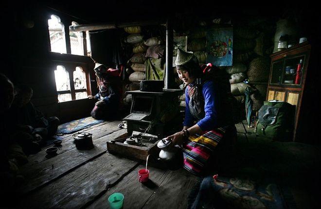 Ακόμα μια φωτογραφία του Allen στο Μπουτάν
