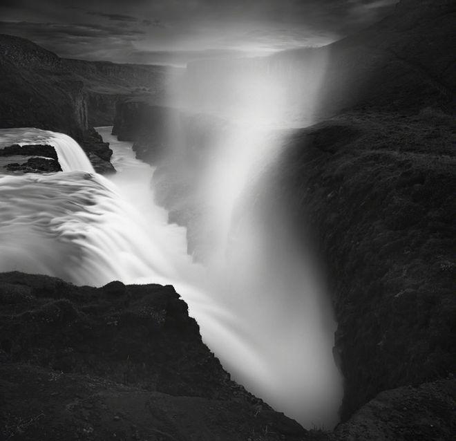 Φωτογραφία του Γάλλου Emmanuel Coupe από τους καταρράκτες Gullfoss στην  Ισλανδία