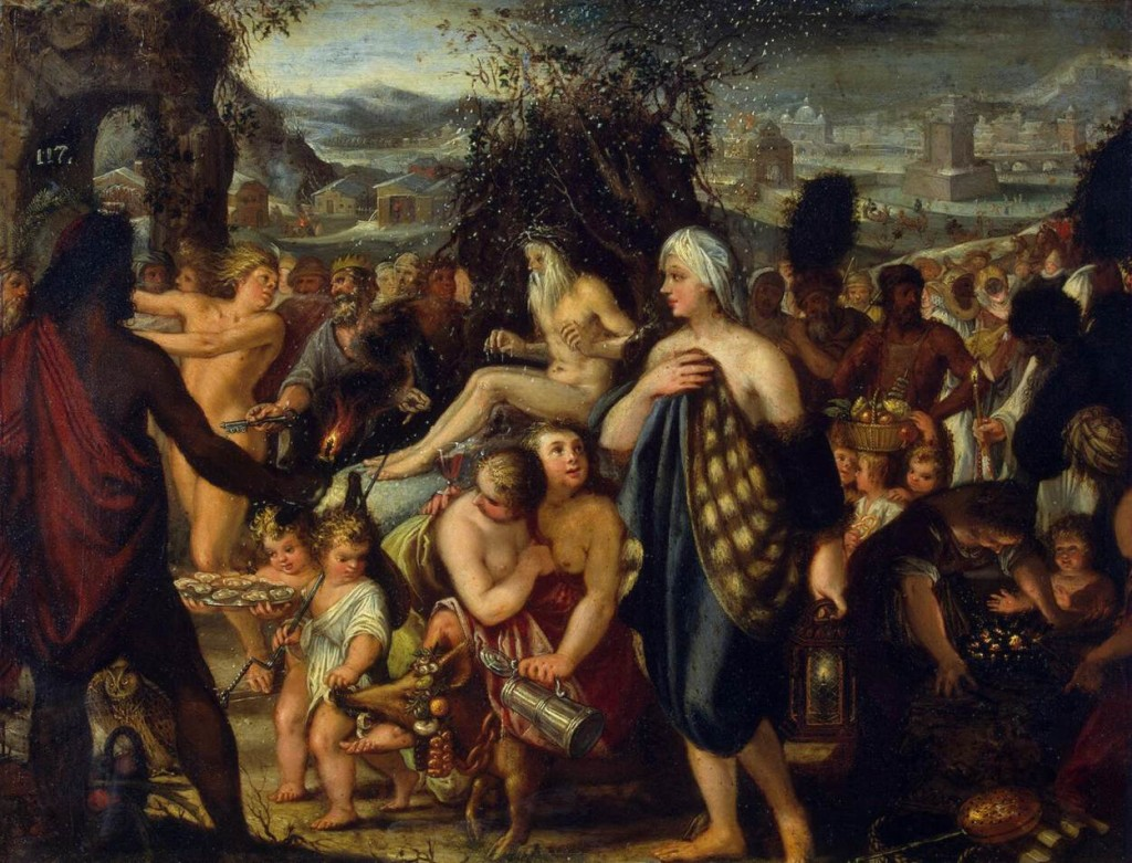 Johann HEISS, η αλληγορία του χειμάνα 1665