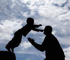 Πατέρας με τον γιο του