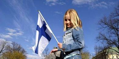 Μαθήτρια στη Φιλανδία