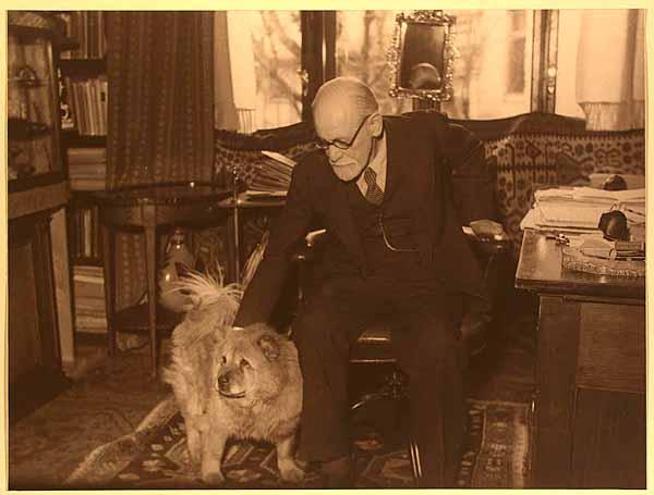 freud-with-dog