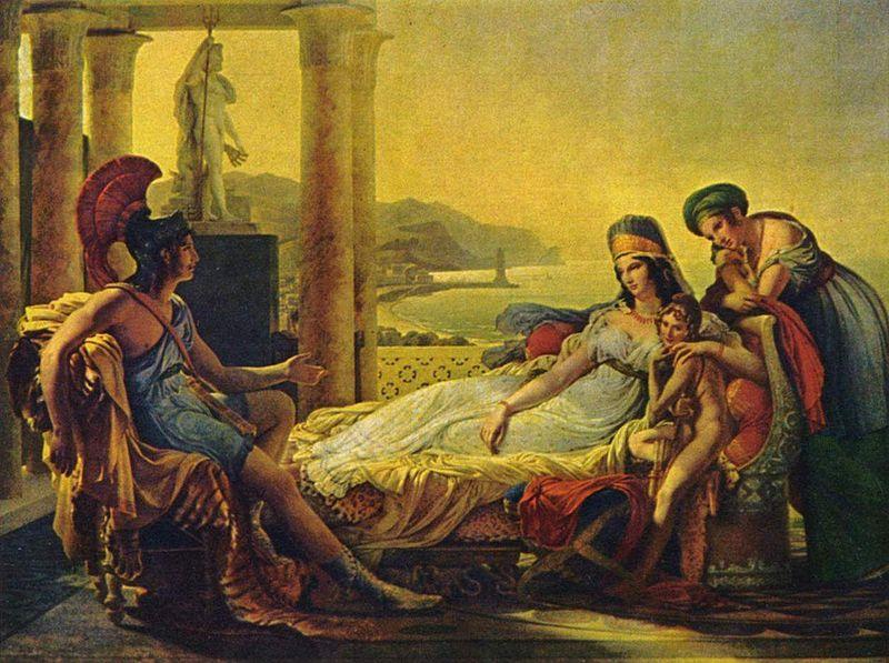 Διδώ και Αινείας -Pierre-Narcisse Guérin 1815