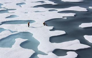 Λιώσιμο πάγων στην Ανταρκτική