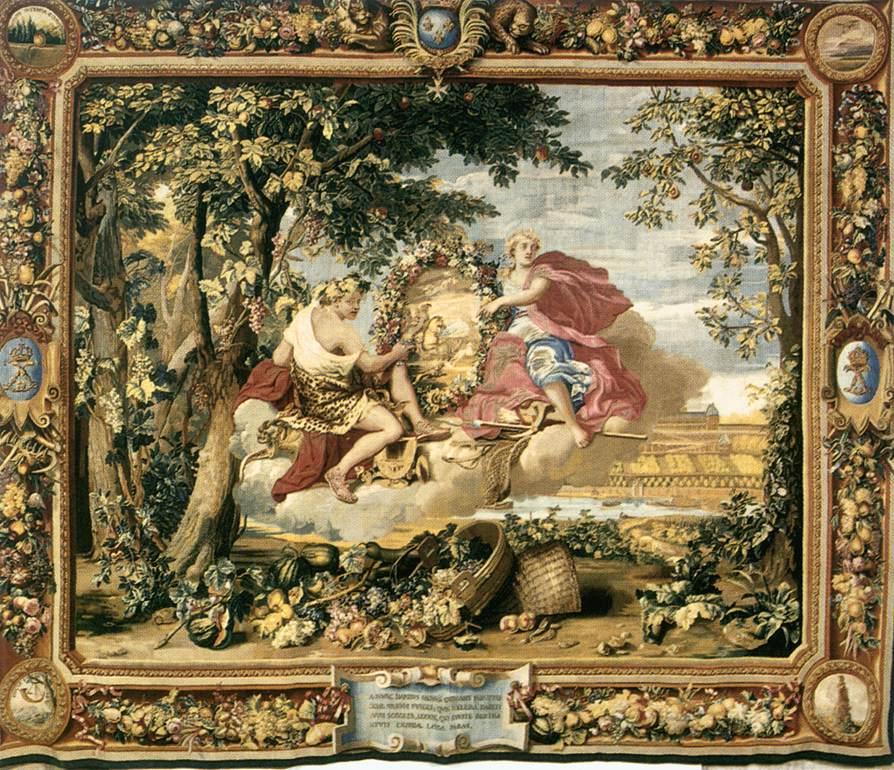 Charles Le Brun,  Οι Εποχές: Φθινόπωρο μετά το 1664