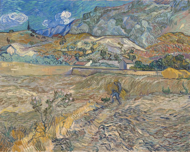 Landscape at Saint-Rémy – 1889