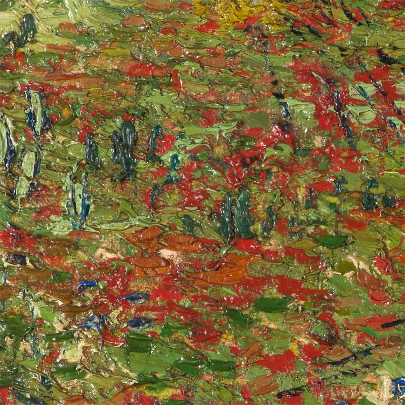 Poppy field – 1890