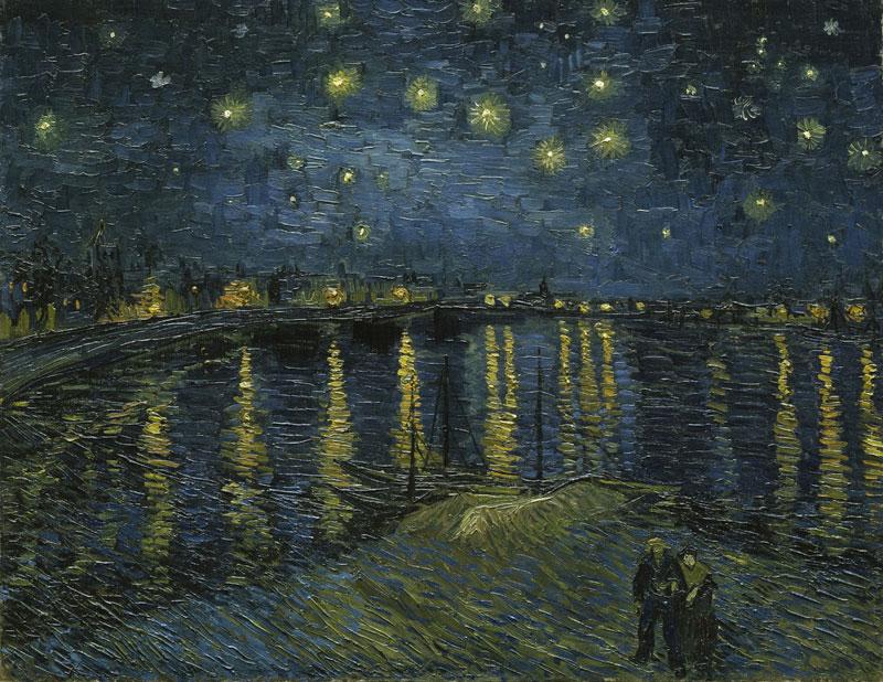 Starry night over the Rhône – 1888