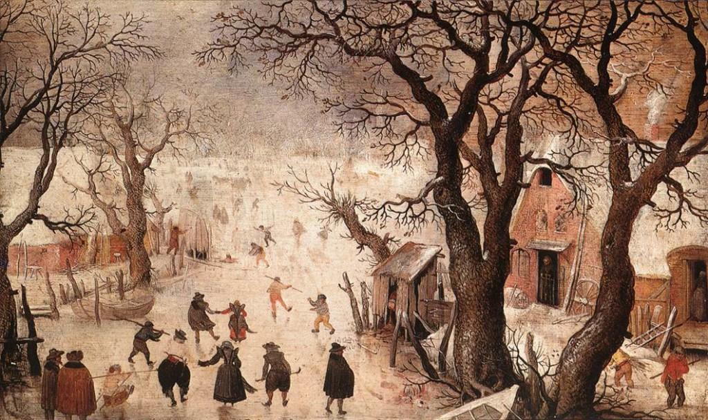 Hendrick AVERCAMP, χειμωνιάτικο τοπίο