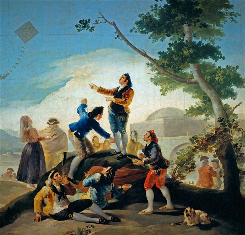Ο χαρταετός - Francisco Jose de Goya y Lucientes - 1777-1778