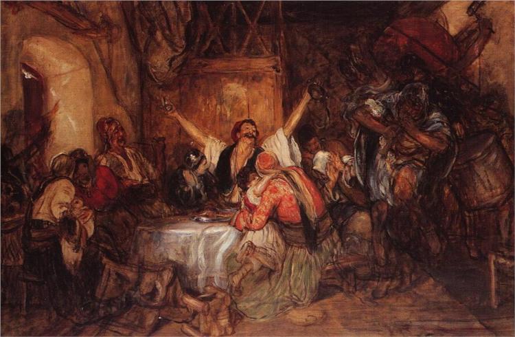 Καρναβάλι στην Αθήνα 1892- Νικόλαος Γύζης