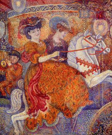 καρναβάλι, το Carousel - Georges Lemmen