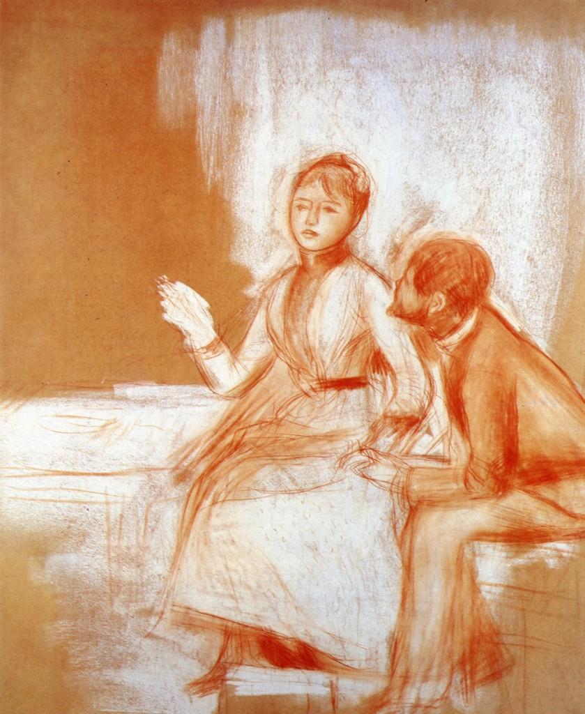 Pierre Auguste Renoir - 1885 - Ερωτευμένοι