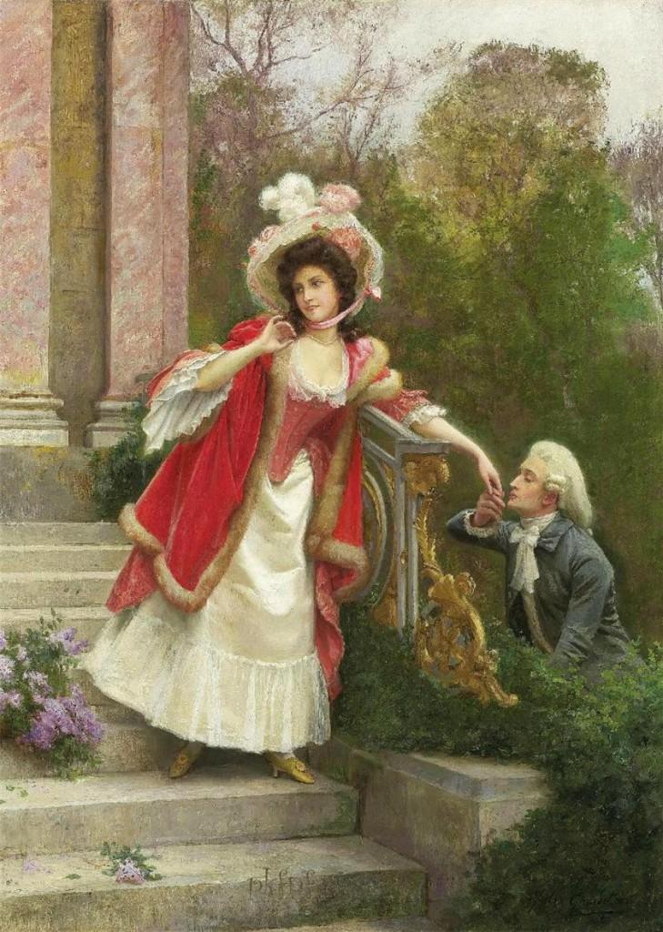 Jules Girardet Οι ερωτευμένοι