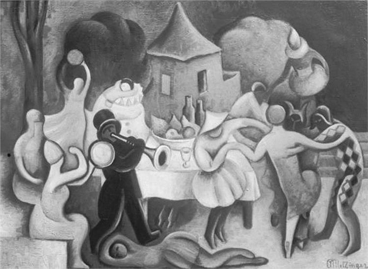 Καρναβάλι στη Βενετία - Jean Metzinger 1922