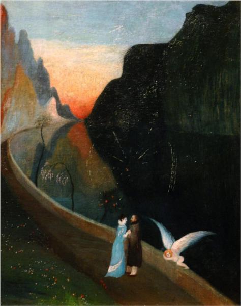 Tivadar Kosztka Csontvary- 1902- το ραντεβού των εραστών