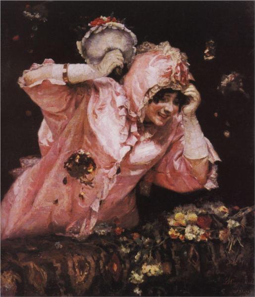 Σκηνή από το ρωμαϊκό καρναβάλι 1884 -Vasily Surikov