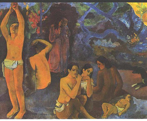 Gauguin_-_Tahitianer