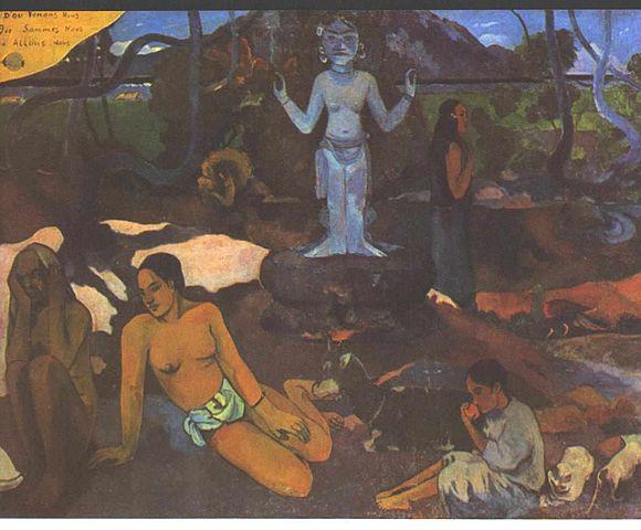 Gauguin_-_Tahitianer_001