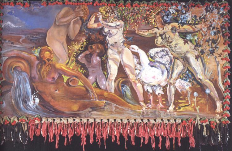 αλληγορία της άνοιξης -Salvador Dali 1978
