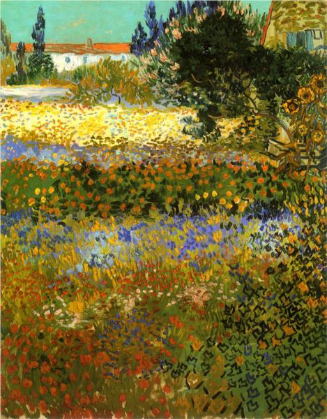 Ανθισμένος Κήπος 1888