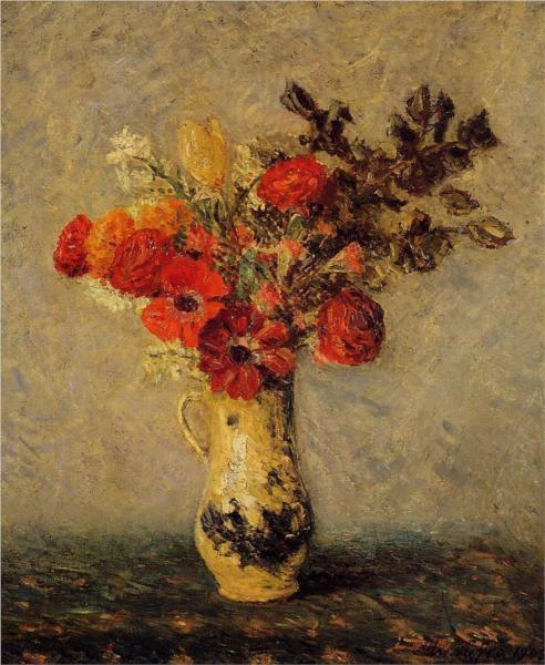 ανοιξιάτικα λουλούδια Maxime Maufra 1905