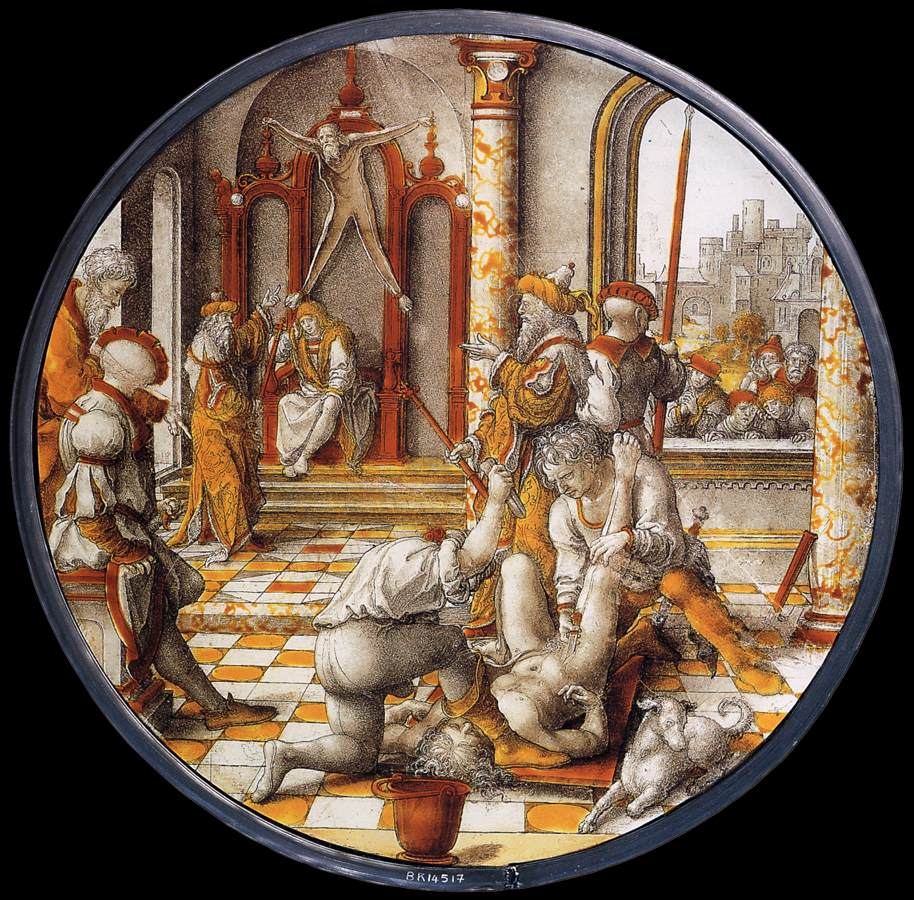The Judgment of Cambyses 1542