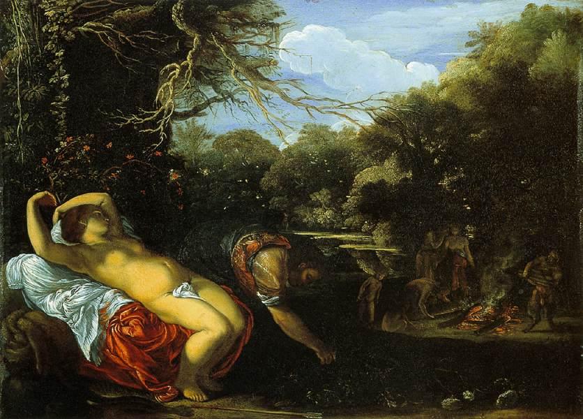 Απόλλωνας και Κορωνίδα Adam Elsheimer, 1607
