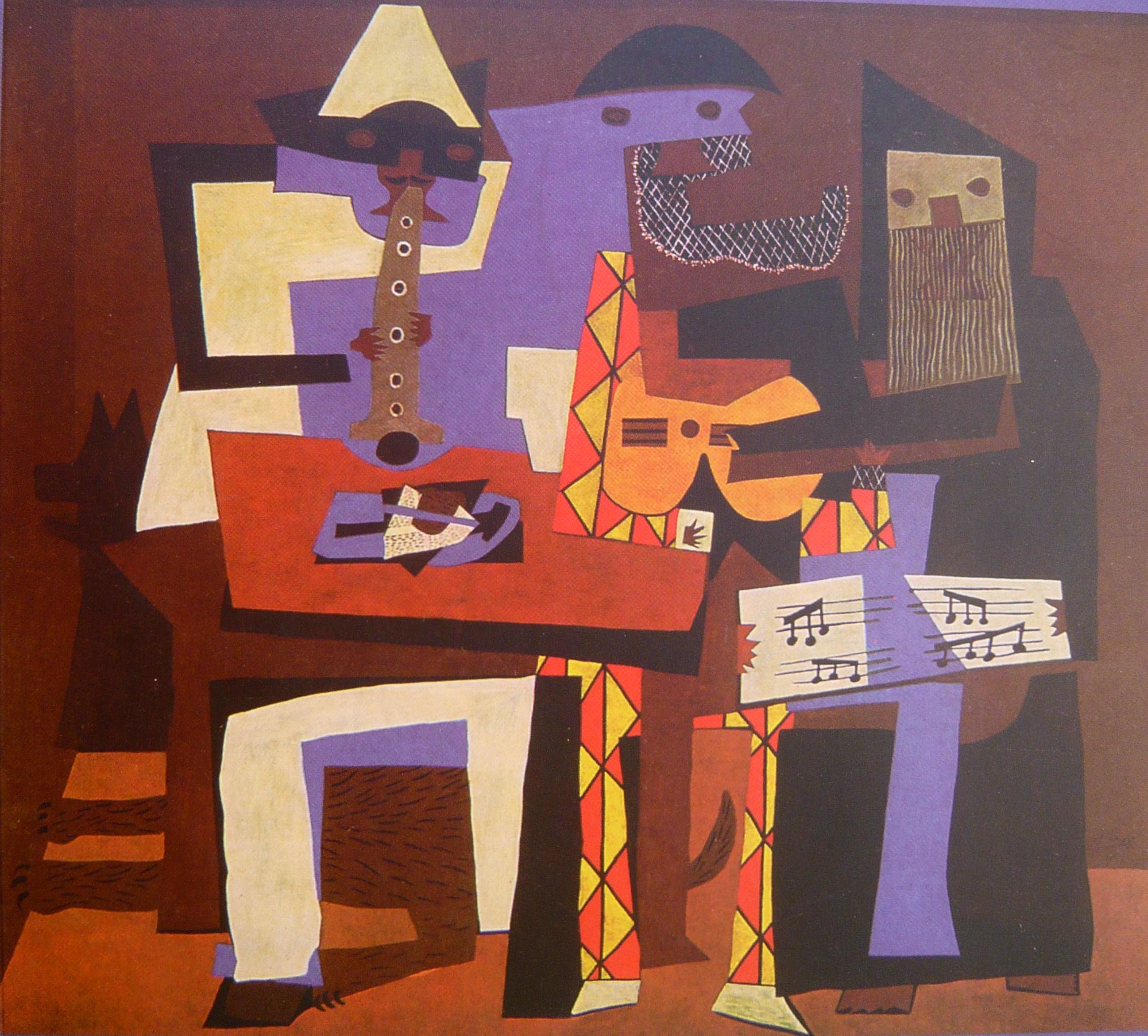 3 μουσικοί -Πάμπλο Πικάσο