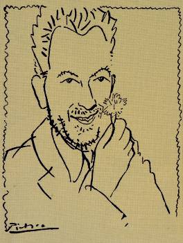 ο διάσημο σκίτσο του Πικάσο που στην άκρη του μένει ανοιχτό. Οταν τον ρώτησαν για δεν το έκλεισε, απάντησε: «Εναν τόσο μεγάλο άνθρωπο δεν μπορείς να τον κλείσεις σε ένα πορτρέτο»...