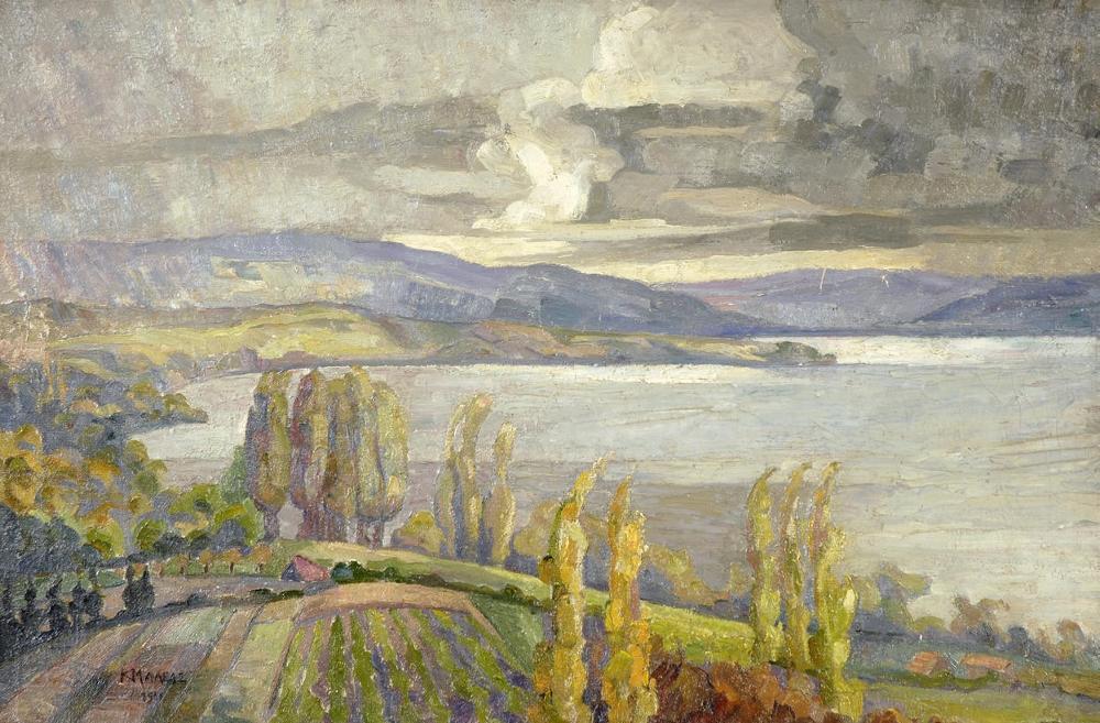 Τοπίο της Βόρειας Ελλάδας (ενδεχομένως Χαλκιδική) Κωνσταντίνος Μαλέας - 1914