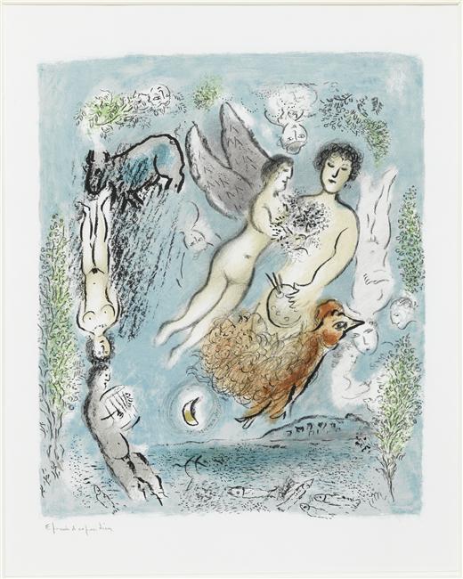 Πόρος - Marc Chagall 1980