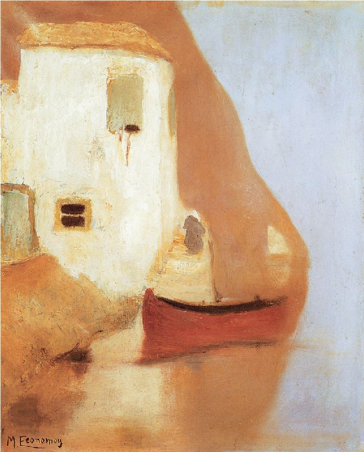 Μιχάλης Οικονόμου, «Υδρα»,1930, Εθνική Πινακοθήκη