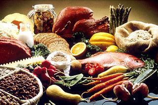 Ποικιλία τροφίμων.