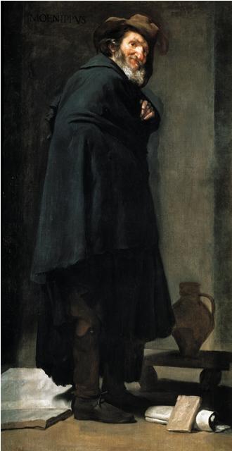 Μένιππος - Diego Velazquez