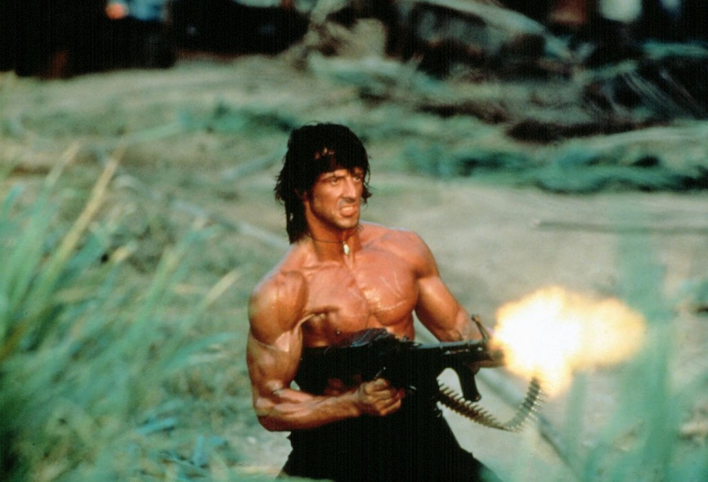 John Rambo por Sylvester Stallone Personajes de cine