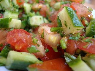 Σαλάτα λαχανικών.