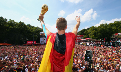 World Cup 2014 Champions Return Home