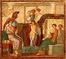 Pompeii_House_of_Marcus_Lucretius_Fronto_Wedding_Mars_Venus
