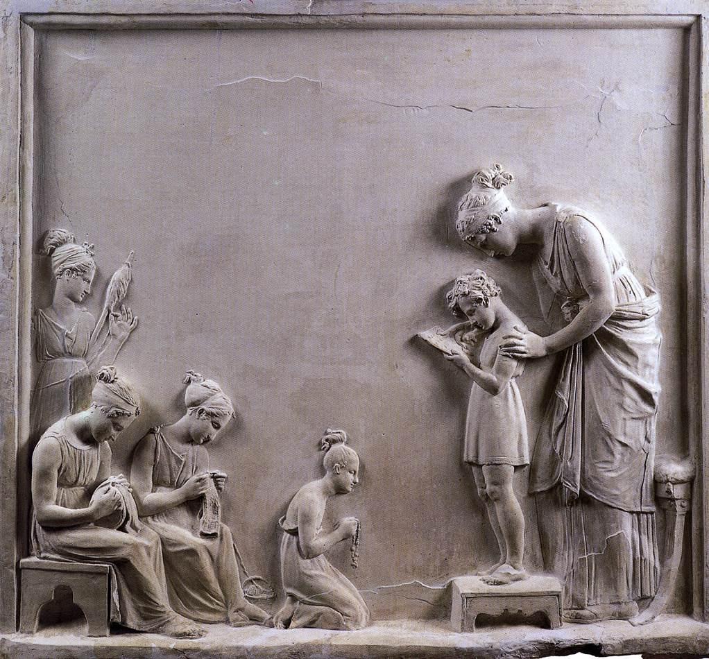 Antonio Canova  - η διδαχή της άγνοιας -1795 - 1796 - μουσείο Correr, Βενετία, Ιταλία