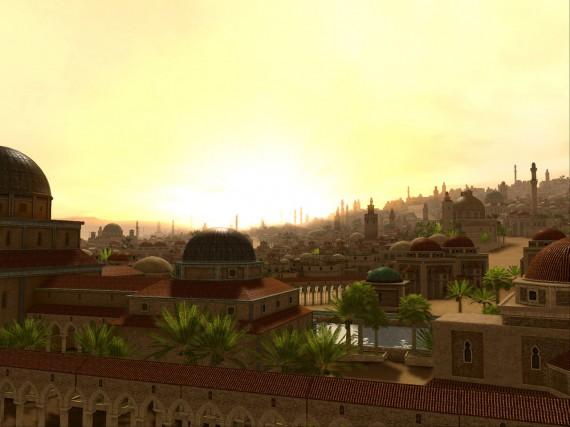 Στόχος των σταυροφόρων ήταν τα Ιεροσόλυμα, η τρίτη ιερή πόλη των μουσουλμάνων, μετά τη Μέκκα και τη Μεδίνα, γιατί σ' αυτή την πόλη ο Θεός οδήγησε τον Προφήτη Μωάμεθ, για να συναντήσει τον Μωυσή και τον Ιησού.