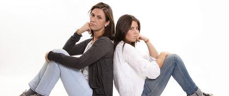 mom and teenager anger